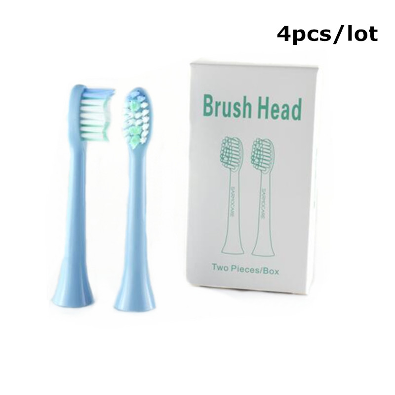4pcs Toothbrush Heads for Sarmocare S100 S200 Ultrasonic Sonic Electric Toothbrush Replacement heads sonic toothbrush replacement heads page 1