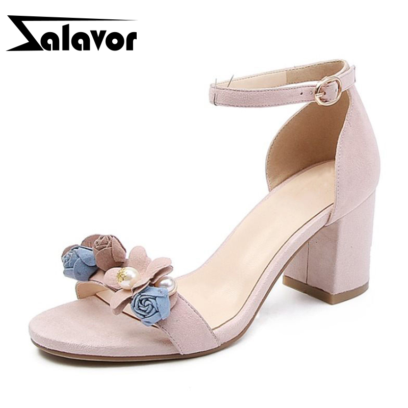 ZALAVOR Women Genuine Leather High Heel Sandals Bowknot Ankle Strap Sandals Summer Vacation Shoes Woman Footwears