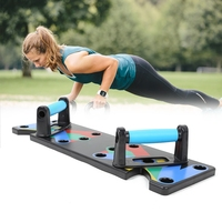 Push Up Rack Board Men Women Comprehensive Fitness Exercise Push up Stands Body Building Training System Gym Home Equipment New