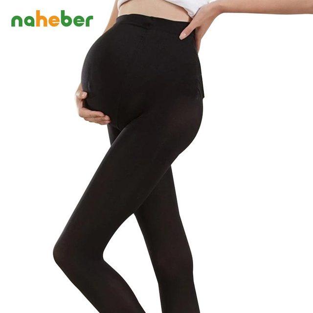 2015 Outono Inverno 320D Ajustável Alta Elastic Leggings Calças de Maternidade Roupas para Mulheres Grávidas Meias