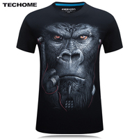 Brand 3D T Shirt Men Hip Hop T Shirt 5XL 6XL Plus Size Mens Funny T