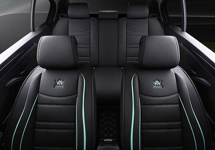 Всесезонные универсальные автомобильные подушки для сидений, автомобильные накладки для Audi A3 A4 A5 A6 A7 Series Q3 Q5 Q7 SUV Series - 3