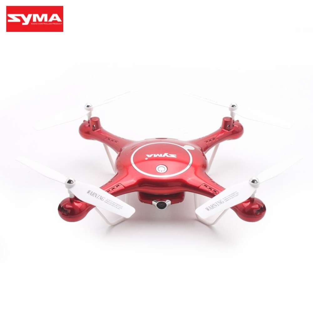 Syma X5UW WiFi FPV 720P Camera Altitude Hold Headless Mode 3D Flip Optical Flow Positioning RC Drone Quadcopter with 4GB Card hr sh2hg rc drone fpv quadcopter headless mode optical flow positioning rtf helicopter selfie with 1080p wifi camera