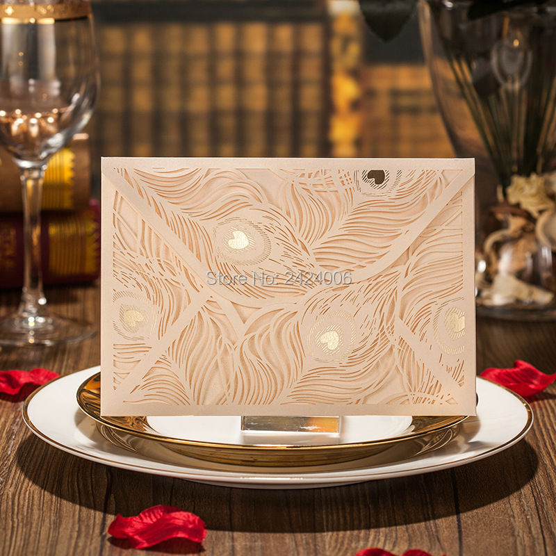 Aliexpress.com : Buy 50 Sets/Lot 2016 Fashionable Personalized Peacock  Wedding Invitation Card Laser Cut In Arabic From Reliable Card Lot  Suppliers On ...