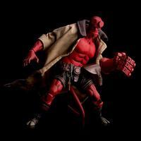Hellboy Devil 100Toys 1/12 Scale PVC Action Figure Model Toy