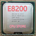 Оригинал Цпу Intel Core 2 Duo E8200 Процессоров 2.66 ГГц/6 М/1333 МГц Dual-Core Socket 775 (работает 100% Бесплатная Доставка)