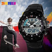 Skmei New Fashion Analog Digital Watch Japan Movement Colorful Watches Mens Womens Top Brand Role Relogio