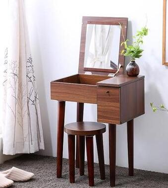 Dresser. Flip muti_function bedroom dressing table dresser small family dresser and desk the bedroom clamshell economical multifunctional table