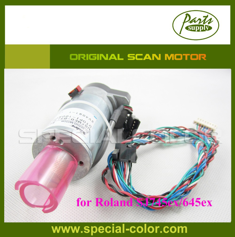 Japan roland SJ745ex/645ex printer Scan motor Original Roland Servo Motor japan ink pump motor for roland sj745ex 645ex