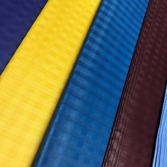 Tessuto di vendita caldo africano nigeria atiku tessuto di buona qualità degli uomini di tessuto nuovo colore atiku tessuto per gli uomini di produzione di abbigliamento