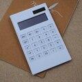 NOYOKERE Neue Ankunft Kreative Schlanke Tragbare mini 12 digital Rechner Solar Energie Kristall Tastatur Dual Power Versorgung|Taschenrechner|Computer und Büro -