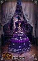 2017 Liebe-live Sonnenschein Kurosawa Dia SS Halloween Awakening mode Hexe Cosplay Kostüm weibliche kleid kappe frauen hut halloween