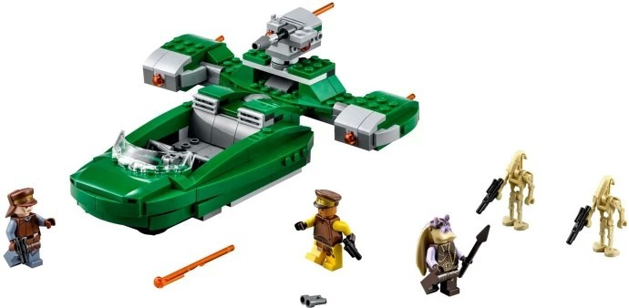Pogo Bela 10463 flashpeeder 75091 Star Wars flash speeder batalla droids construcción Blocs ladrillos Juguetes legoe compatible