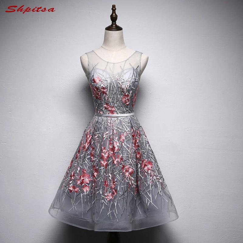 Taohill Lace Cocktail Dress 2019 Applique Pink Short Prom Dress Party Cocktail Dresses Cap Sleeves Vestidos De Coctel Robe Weddings & Events