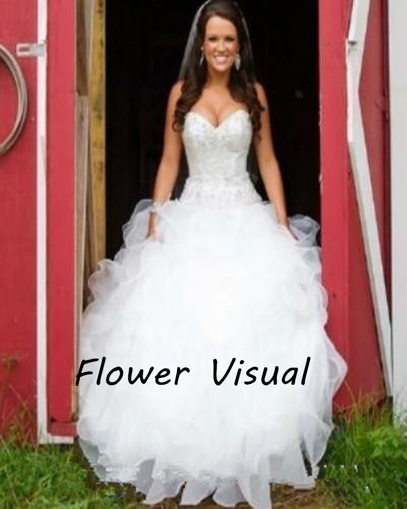 Modern Country Western Style Wedding Dresses Model - Colorful ...