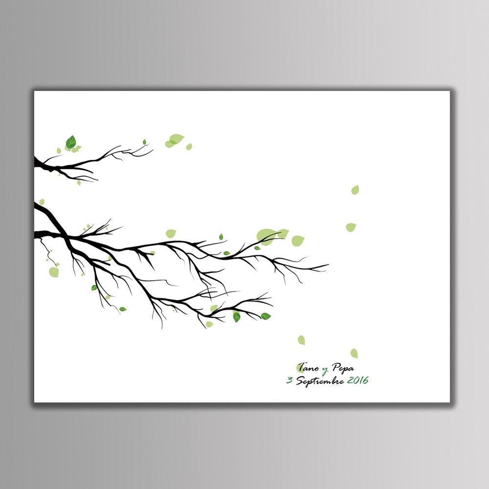 1 set Personalized Customize Fingerprint DIY Wedding Tree Creative ...