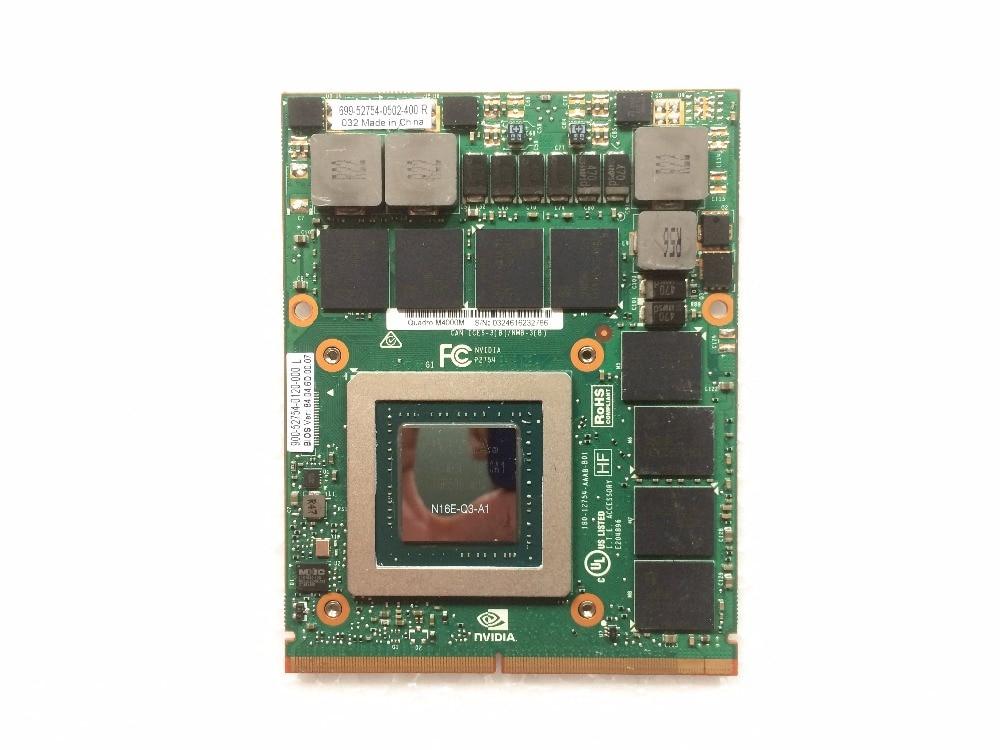 Quadro M4000M 4GB GDDR5 MXM 3.0b Card N16E-Q3-A1 CN-04XR03 04XR03 4XR03 for Precision 7710 M6800 Laptop mxm fan meeting singapore