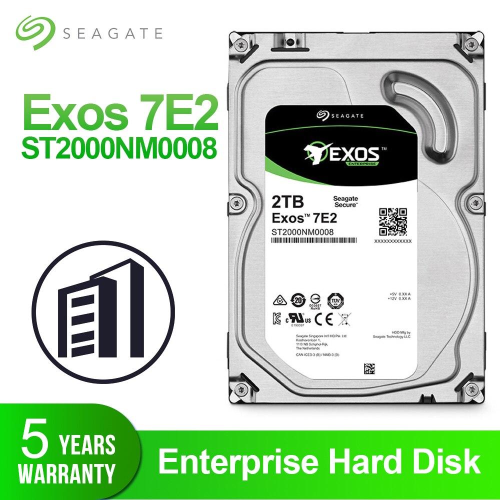 Disco duro para empresa Seagate Exos 7E2 2TB, HDD interno de 3,5