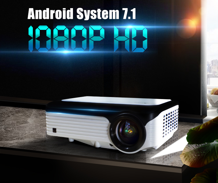 Proyector projecteur LCD Android 3