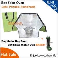Buy Solar Bag Oven Get Solar Water Cup Free Light Portable Fashionable Shoulder Bag Solar Oven