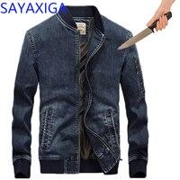 Самозащита тактическая Экипировка анти нож резистентная джинсовая куртка анти устойчивые к проколу одежда с длинными рукавами безопаснос