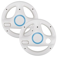 Games Racing-Wheel Wii Controller Nintend for 2pcs/Set White