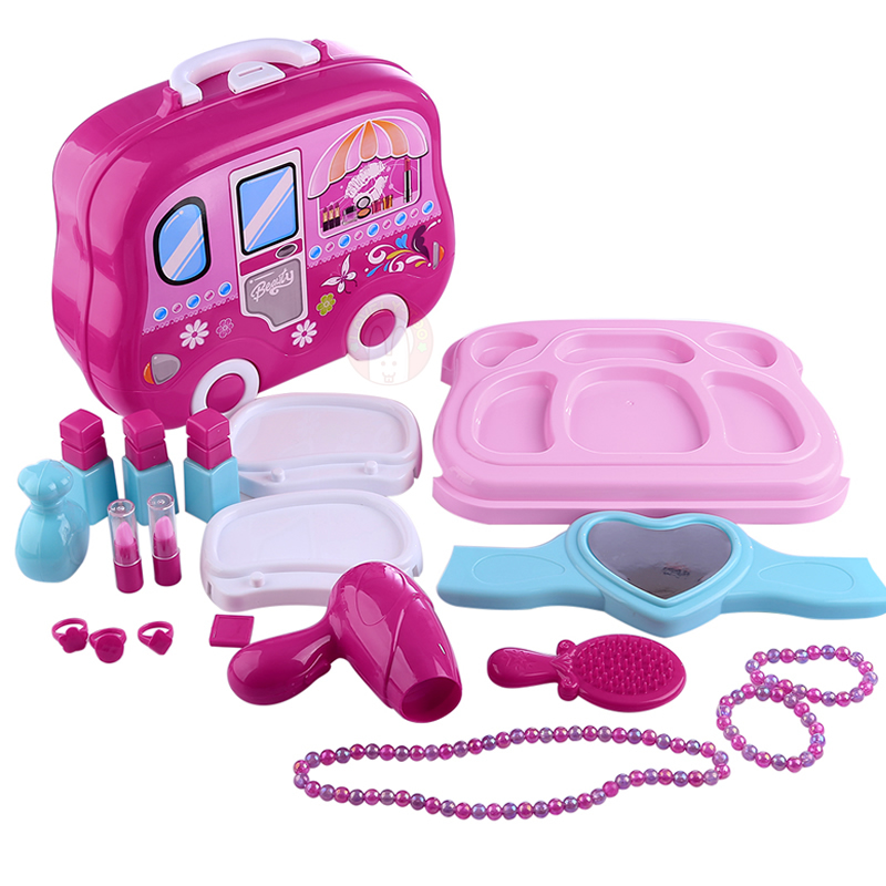 Hot DealsMakeup-Toys Cosmetics Pretend-Play-Set Hairdressing Girls Games Baby Kids for Developing-Game