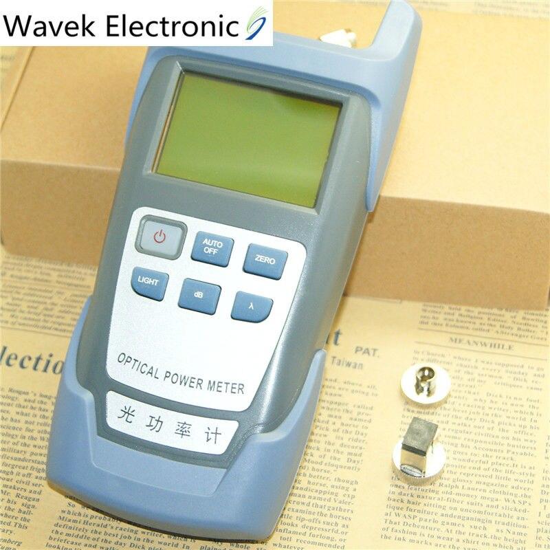 Medidor de potencia óptica DXP-40D fibra FTTH Cable óptico probador óptico-70dBm + 10dBm SC/FC conector envío gratis