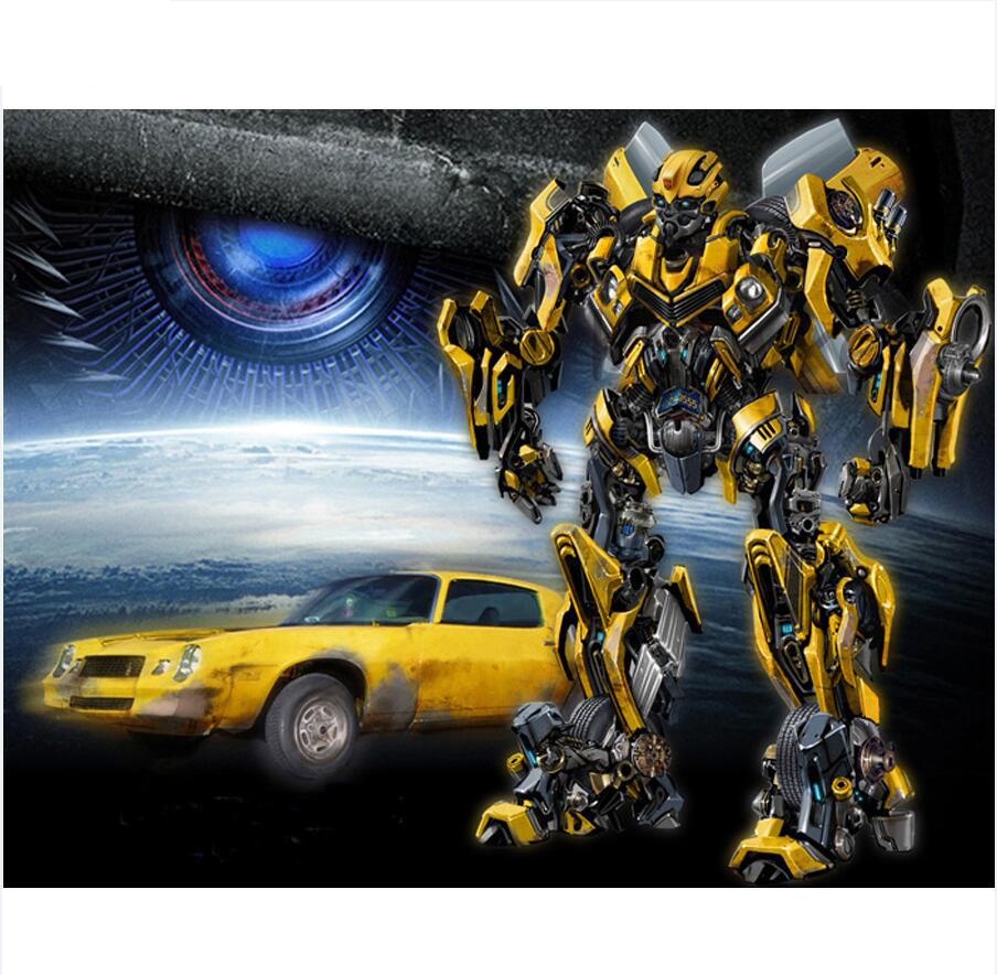 Diamond-Painting-Full-Square-5D-DIY-Transformers-Bumblebee-Car-Daimond-Painting-Embroidery-Cross-Stitch-Rhinestone-Art