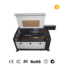 Free Shipping 4060 with CO2 80W 60W  laser cutting machine and engraving linear guide