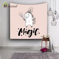 HAKOONA Digital Print Tapestry/Wall Blanket/Beach Towel Unicorn Series Wall Decor esilient polyester Cloth 150x130cm,203x150cm