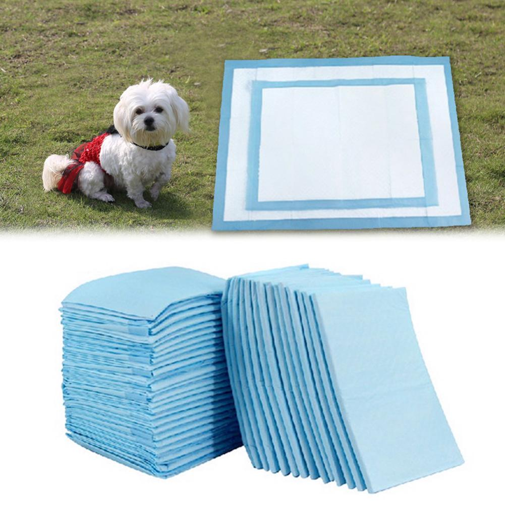 100Pcs Dog Cat Rabbit Diapers Sanitary Deodorant Nappy Pad Mat Pet Supplies Dog Cat Cleaning Products