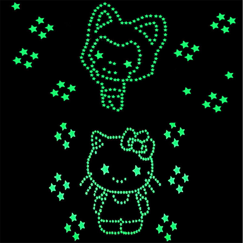 HTB13LN2NpXXXXaOapXXq6xXFXXXo - New Hot 50pcs 3D Stars Glow In The Dark Luminous Fluorescent Plastic Wall Stickers Living Home Decor For Kids Rooms
