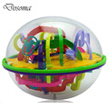 3D Magic Intellect Maze Ball 100 Levels Rolling Ball Children Balance Logic Ability Puzzle Game Kids Orbit Game Educational Toys