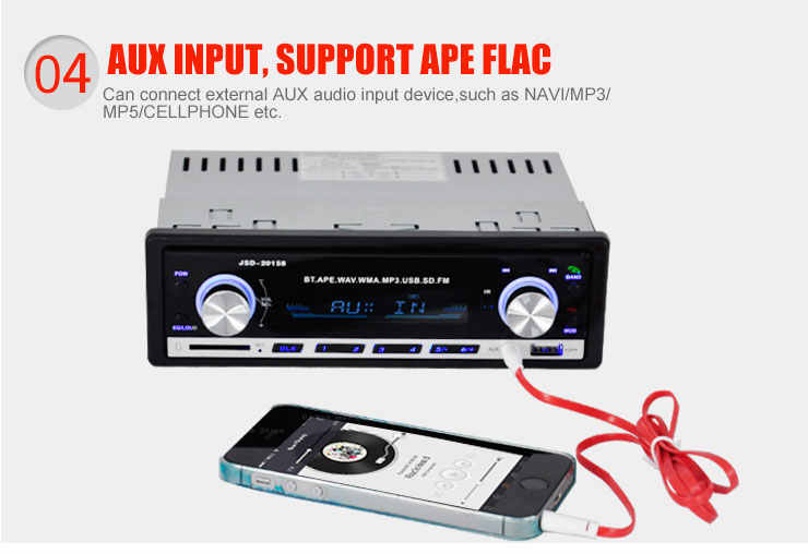 車ラジオ MP3 Bluetooth プレーヤーハンズフリーフリーアプラグインカード fm Chargerd 電話 1 Din 音楽でダッシュ