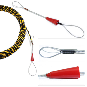 Image 3 - 6.5mm*20m Nylon Fish Tape Electric Cable Push Puller Conduit Ducting Cable Rodder Wire Guide electric cable Wire extension cord