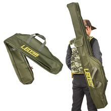 Portable Fishing Bags Folding Rods Canvas Gear Storage Case Dental LEO