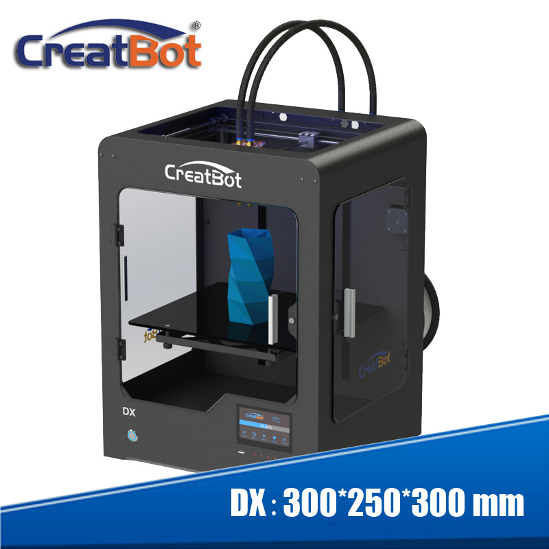 Creatbot DX Metal Frame Build Size 300 * 250 * 300 mm PLA / ABS / PVA - Elektronik pejabat - Foto 1