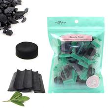 Mask Compressed Makeup Face-Care Bamboo-Charcoal DIY Non-Woven for Girls Women 40pcs