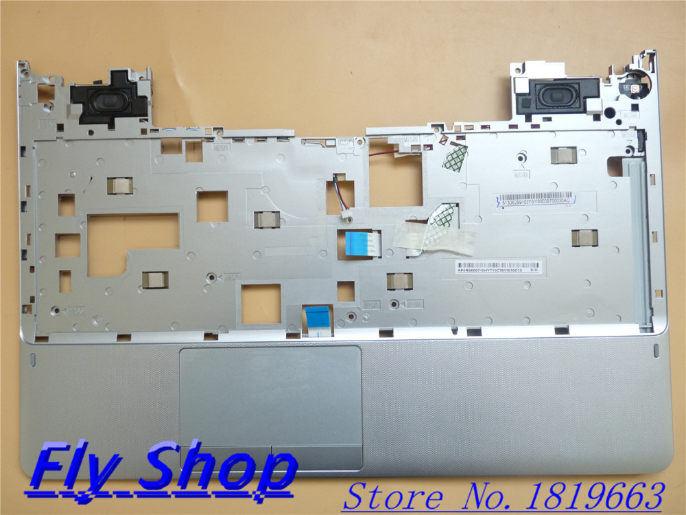 NEW For Samsung NP355V5C NP350V5C Palmrest/Touchpad assy+Speakers/Powerbutton/usb AP0RS000710