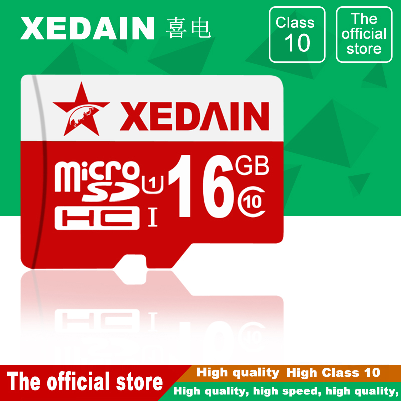 XEDAIN Free Shipping Micro SD Memory Card Good 64GB/32GB/16GB Class10 Micro SD Cards SDXC TF Cards mini card Flash Micro SD Card micro sd card 128gb class10 tf card pro sdxc u3 sd card ultra high speed flash memory card with retail packaging