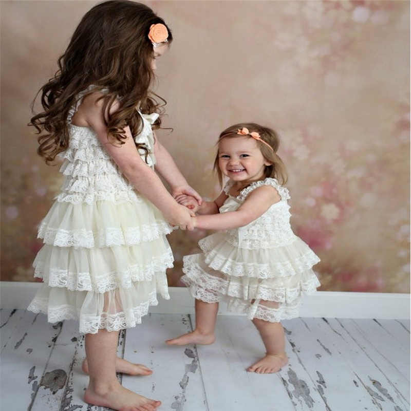 47f4a7fe9 Dress For Girl Baby girls dress Clothes Newborn Baptism Infant Lace dresses  Flower Children Dresses Kids