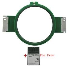 Popular GREEN Plastic Hoops Size 210mm Total Length 355mm TAJIMA Tubular Frame Embroidery Hoop For machine