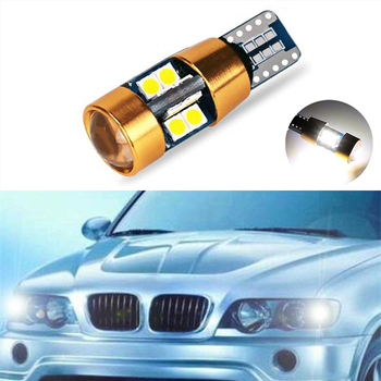 1x Canbus Car LED T10 W5W 19LED Parking Light For BMW E46 E39 E91 E92 E93 E28 E61 F11 E63 E64 E84 E83 F25 E70 E53 E71 E60 image