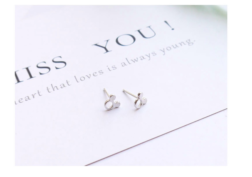 SPE Javier Gold Silver ADORABLE BUMBLE BEE INSECT SHAPED STUD EARRINGS ANIMAL JEWELRY For Women Girl Gift Stud Earrings pair of stylish rhinestone triangle stud earrings for women