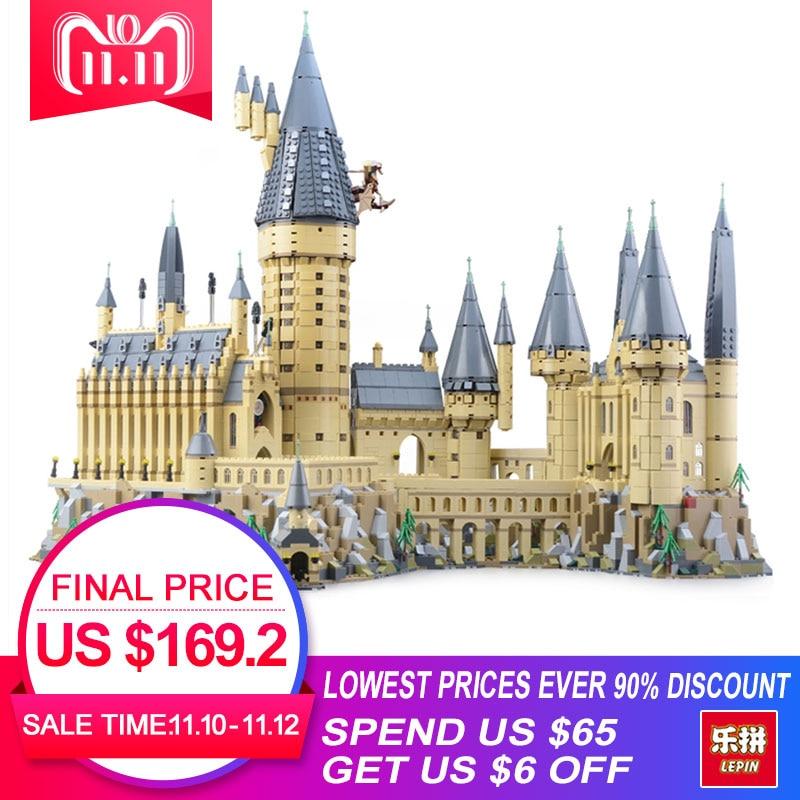 2018 Lepin 16060 Harry Magic Potter Hogwarts Castle School Compatible Legoing 71043 Building Blocks Bricks Educational Toy Model