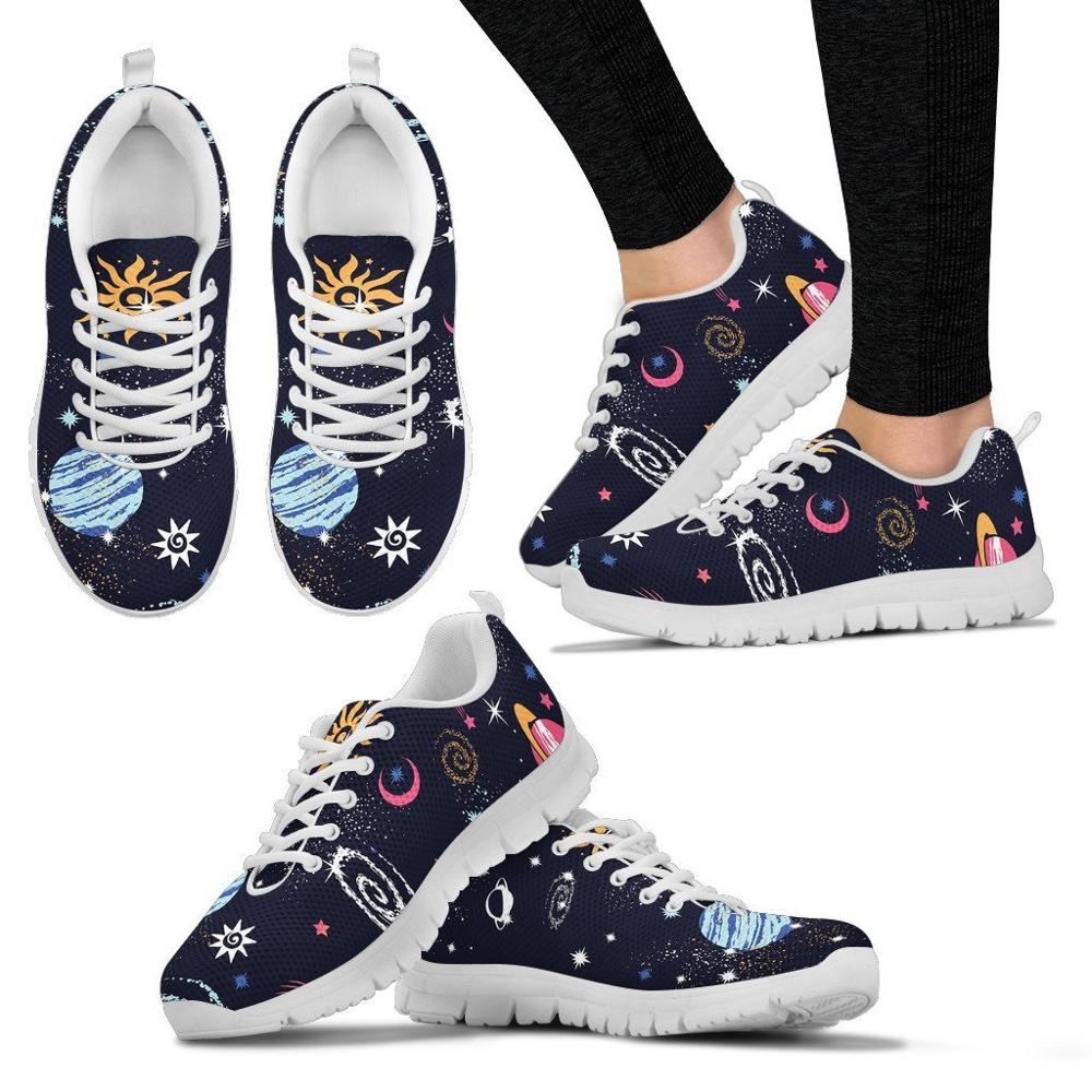 Skull and Brain Astronaut Toys Slip On Canvas Upper Loafers Sneakers Painted Canvas Shoes Casual Shoe for Women