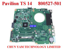 Original 800527-501 FOR HP 14-Y series Laptop Motherboard DA0U87MB6C2 Rev:C Mainboard with N2830 90Days Warranty