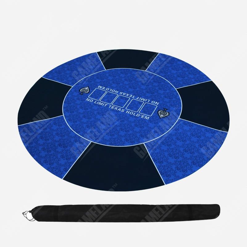Nappe de Poker circulaire en caoutchouc Baccarat