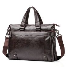 New Brand Men's Leather Messenger Bags Vintage Crossbody Bag Men Shoulder Bag Postman Briefcase Male Handbags
